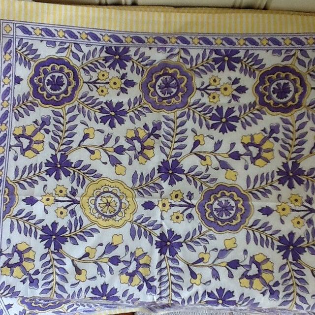 Tuscany Style Tablecloth & Napkins - Set of 8 - Image 4 of 10