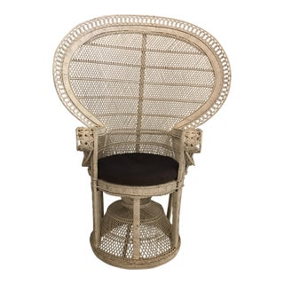 Emanuelle Peacock Chair For Sale