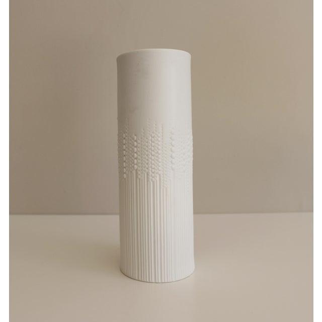 Rosenthal Rosenthal Studio Line Pearl Drops Vase Tapio Wirkkala Mid Century Modern For Sale - Image 4 of 5