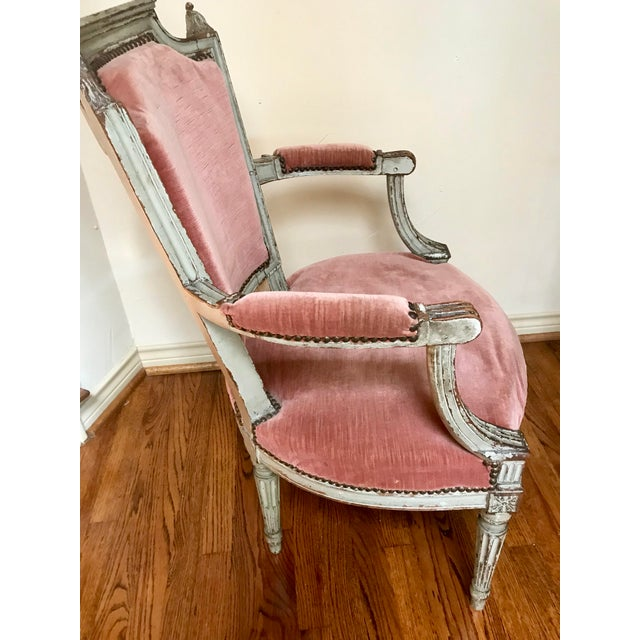 Wood 1900 French Louis XVI Chair For Sale - Image 7 of 8