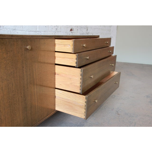 Brass Harvey Probber Mid-Century Credenza For Sale - Image 7 of 11
