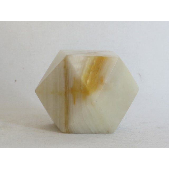 Geometric Onyx Paperweight - Image 5 of 5