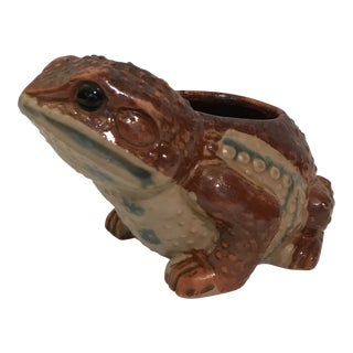 Ceramic Toad Planter