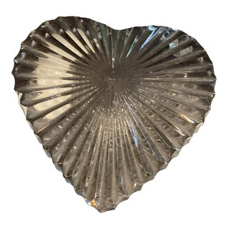 Vintage Waterford Crystal Heart / 2 Available For Sale