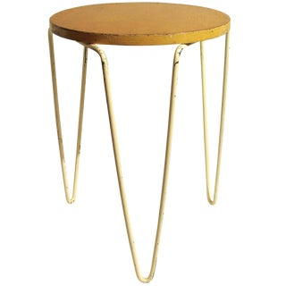 Authentic Original Vintage Knoll Stacking Stool or Table For Sale