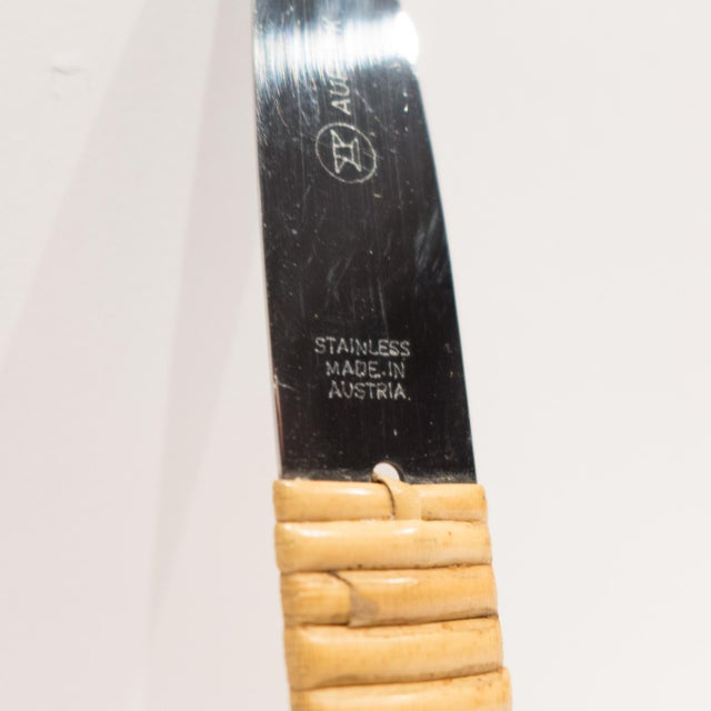 Carl Aubock Cheeseboard with Knife For Sale - Image 9 of 9