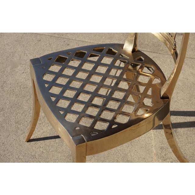 Dana John Cast Bronze Chair For Sale In Los Angeles - Image 6 of 7