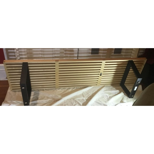 Mid-Century Herman Miller George Nelson Slat Bench in Maple - Image 7 of 8