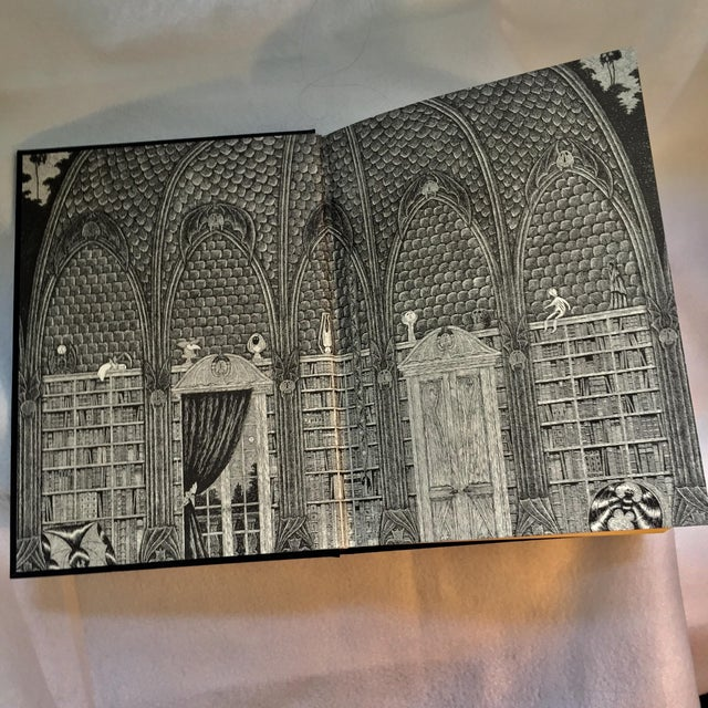 Dracula Book Collector's Edition Illustrated by Edward Gorey For Sale - Image 5 of 6