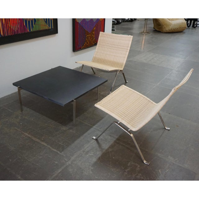 1960s Poul Kjaerholm Pk22 Chairs for E.Kold Christiansen - a Pair For Sale - Image 5 of 10
