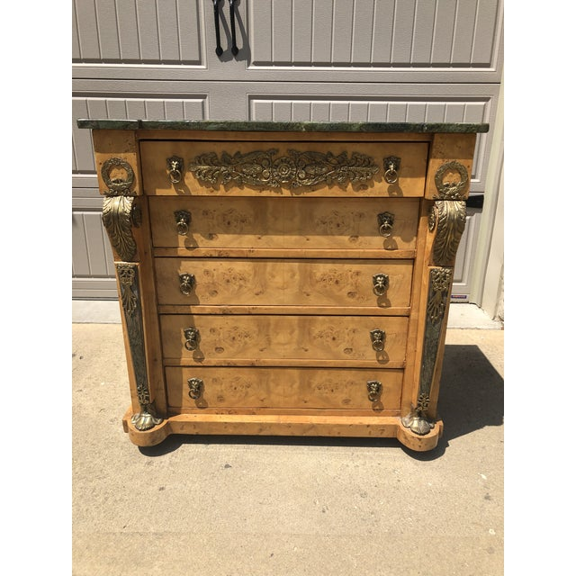 Antique Biedermeier Style Chest of Drawers For Sale - Image 9 of 9