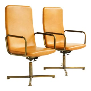 Pair of C & B Italia High Back Armchairs For Sale