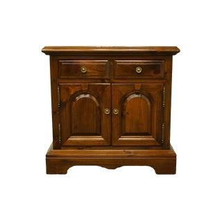Kling Colonial Solid Pine Nightstand For Sale