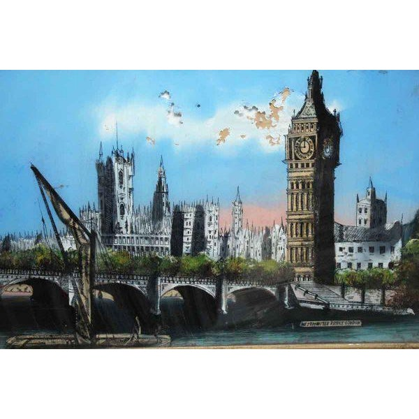 Framed Print of London For Sale - Image 4 of 11