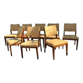 Mid Century Danish Domino Mobler Dining Chairs - Set of 8 For Sale