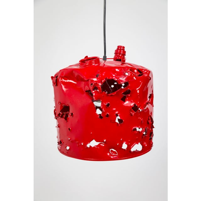 2010s Gas Can Pendant Light by Charles Linder For Sale - Image 5 of 10