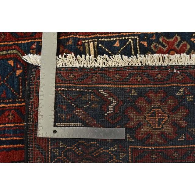 Vintage Persian Hamadan Rug - 4'6'' X 7' For Sale - Image 12 of 13
