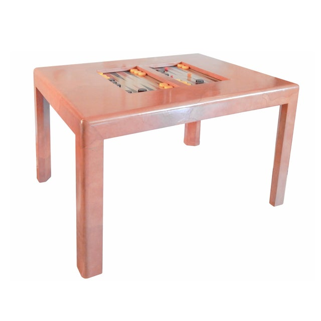 Karl Springer Game Table - Image 8 of 8