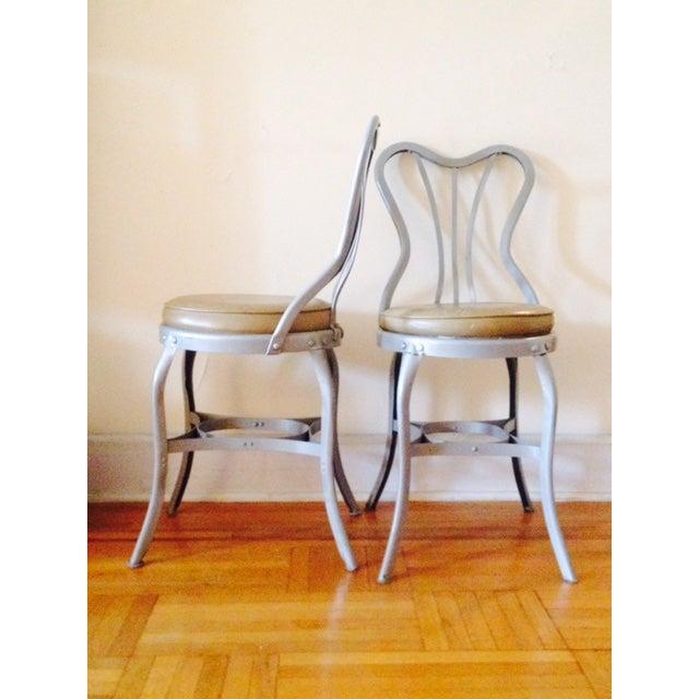 "Toledo ""Uhl Art Steel"" Chairs - Pair - Image 2 of 4"