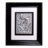 Image of Abstract Jean Dubuffet Lithograph Limited Edition - 1973 Abstract Forms For Sale