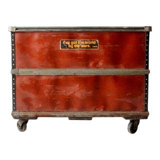 Vintage Industrial Rolling Cart For Sale