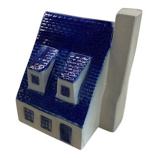 Blue House Coin Bank For Sale