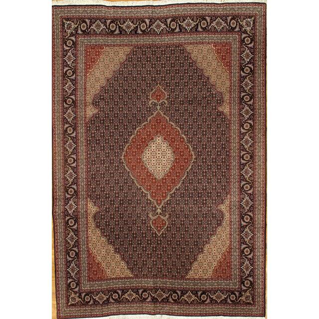 Pasargad N Y Fine Persian Tabriz Fish Design Silk & Wool