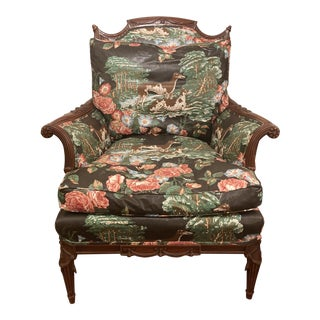 1920s Bergere Occasional Chair For Sale