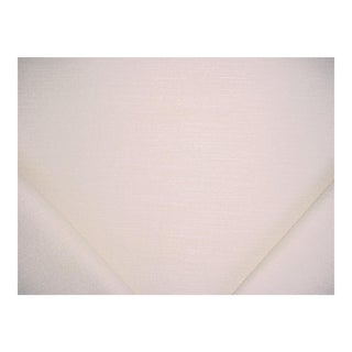 Ralph Lauren Valais Weave Snow Linen Upholstery Fabric - 2 1/4 Yards For Sale