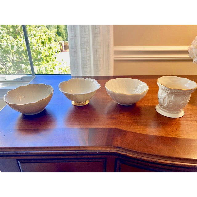 Vintage Lenox Candy/Nut Bowls - Set of 4 For Sale In Pittsburgh - Image 6 of 6