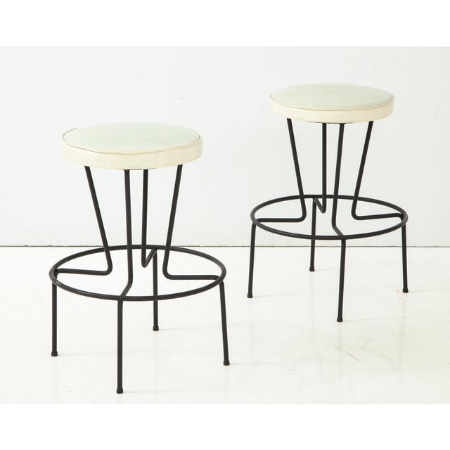 Frederick Weinberg Stools - a Pair For Sale - Image 10 of 10