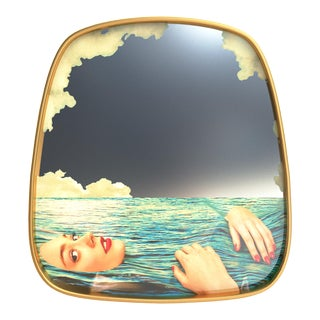 Seletti, Sea Girl Mirror, Toiletpaper, 2018 For Sale