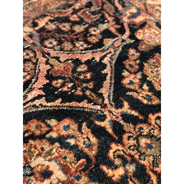 """1960s Persian Malayer Wool Runner - 3'5""""x19'4"""" For Sale - Image 11 of 13"""