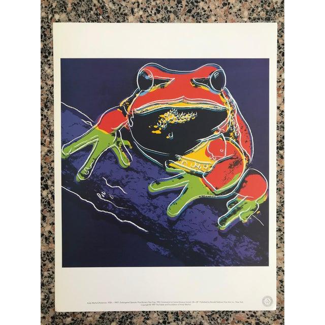 "Lithograph Warhol ""Endangered Species"" Print Portfolio For Sale - Image 7 of 12"