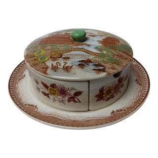 European Porcelain Coffee Service Bowl For Sale