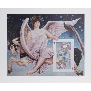 Robert Anderson, Flight of the Heart, Lithograph For Sale