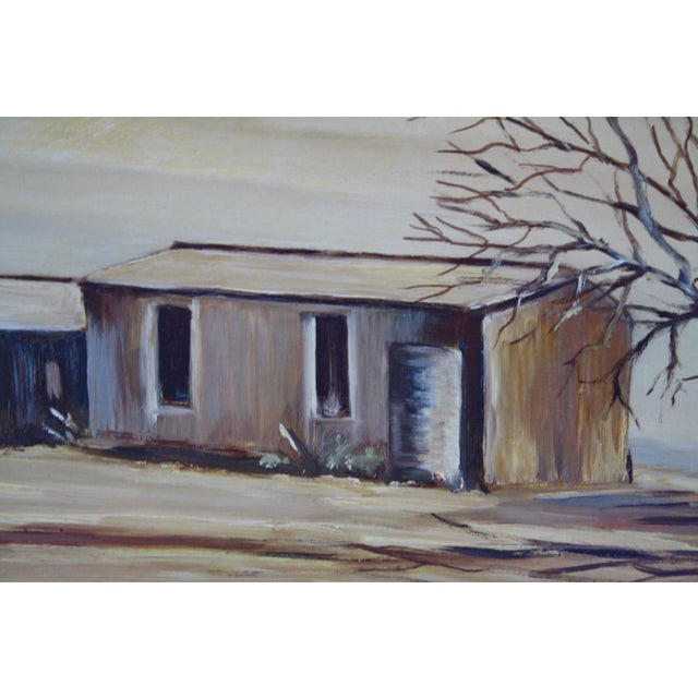 Oil Paint May Jones Australian Oil Painting For Sale - Image 7 of 11