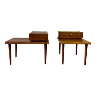 American of Martinsville Mid Century Modern Nightstands Side Tables For Sale