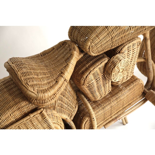 Tom Dixon Rattan Motorcycle Sculpture For Sale In Portland, OR - Image 6 of 13