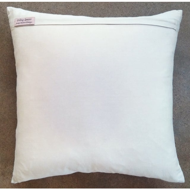 Countryside Embroidered Pillow - Image 3 of 3