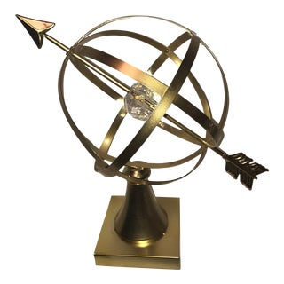 Large Oversized Gold Armillary Globe