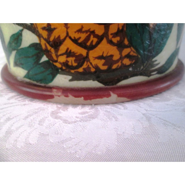 Tropical Pineapple Ice Bucket - Image 8 of 9