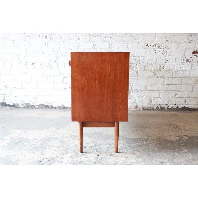 Danish Modern Teak Sideboard Credenza For Sale - Image 9 of 10