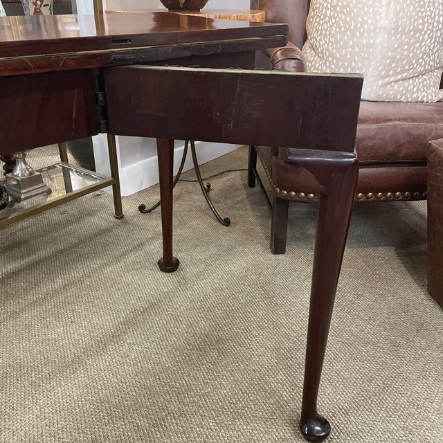 Antique Queen Anne Game Table For Sale - Image 10 of 13