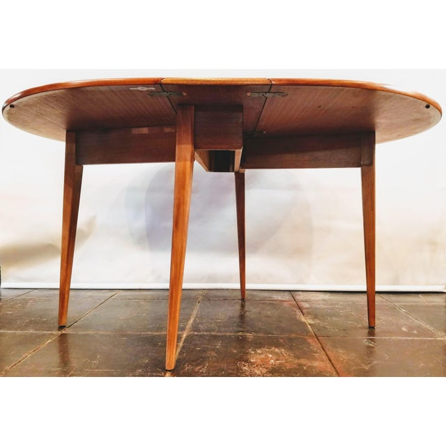 Mid-Century Modern Mid-Century Danish Modern Sutcliffe of Todmorden S Form Drop Leaf Table For Sale - Image 3 of 12