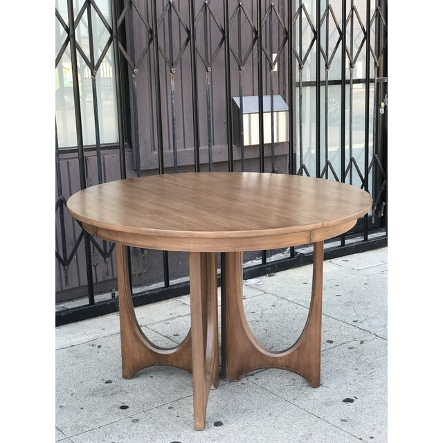 5ecf84b7be89 Broyhill Mid Century Broyhill Brasilia Dining Table For Sale - Image 4 of 13