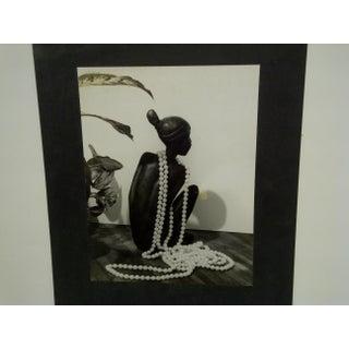 "Circa 1950 Vintage ""Pearls"" Black & White Photograph Preview"
