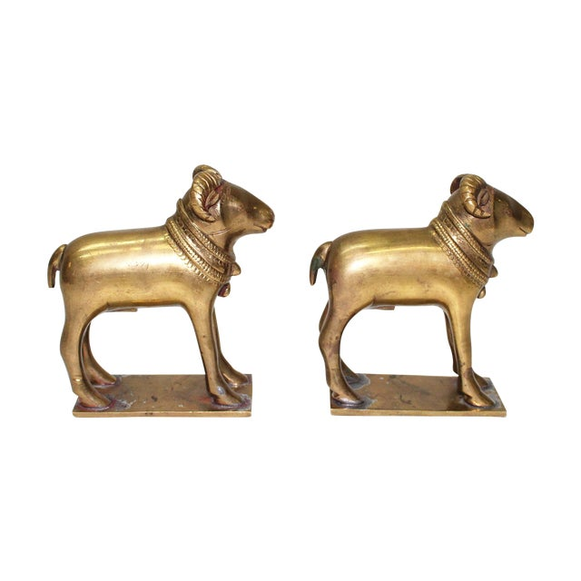 Early 20th Century Ram Bookends - A Pair - Image 1 of 5