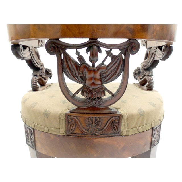 Early 19th Century Exceptional Early 19th Century Neopolitan Armchair For Sale - Image 5 of 7