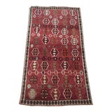 Image of 1970s Vintage Persian Qashqai Rug - 3′10″ × 6′8″ For Sale